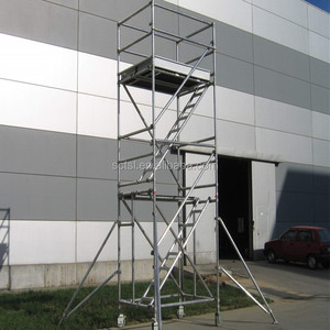 Best Price scaffolding mobile working Aluminum tower