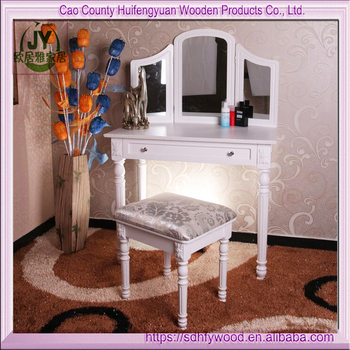 Dressing Table 1 Draw Stool Mirrordress Table With Trimirror New