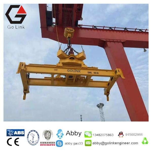 Crane Spreader Container Lifting Spreader Telescopic Container ...