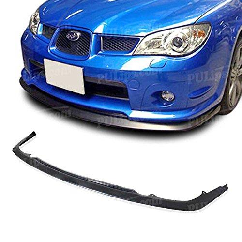 PULIps SUIP06S204FAD - S204 Style Front Bumper Lip For Subaru Impreza WRX STI 2006-2007