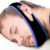 2018 Hot selling Adjustable black anti snore sleep chin strap to to help stop snoring belt/anti snoring mouthpiece
