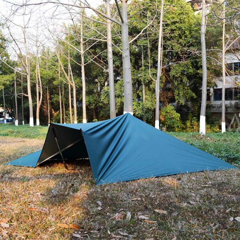 Silver Coating Anti Uv Ultralight Shelter Tarp Free
