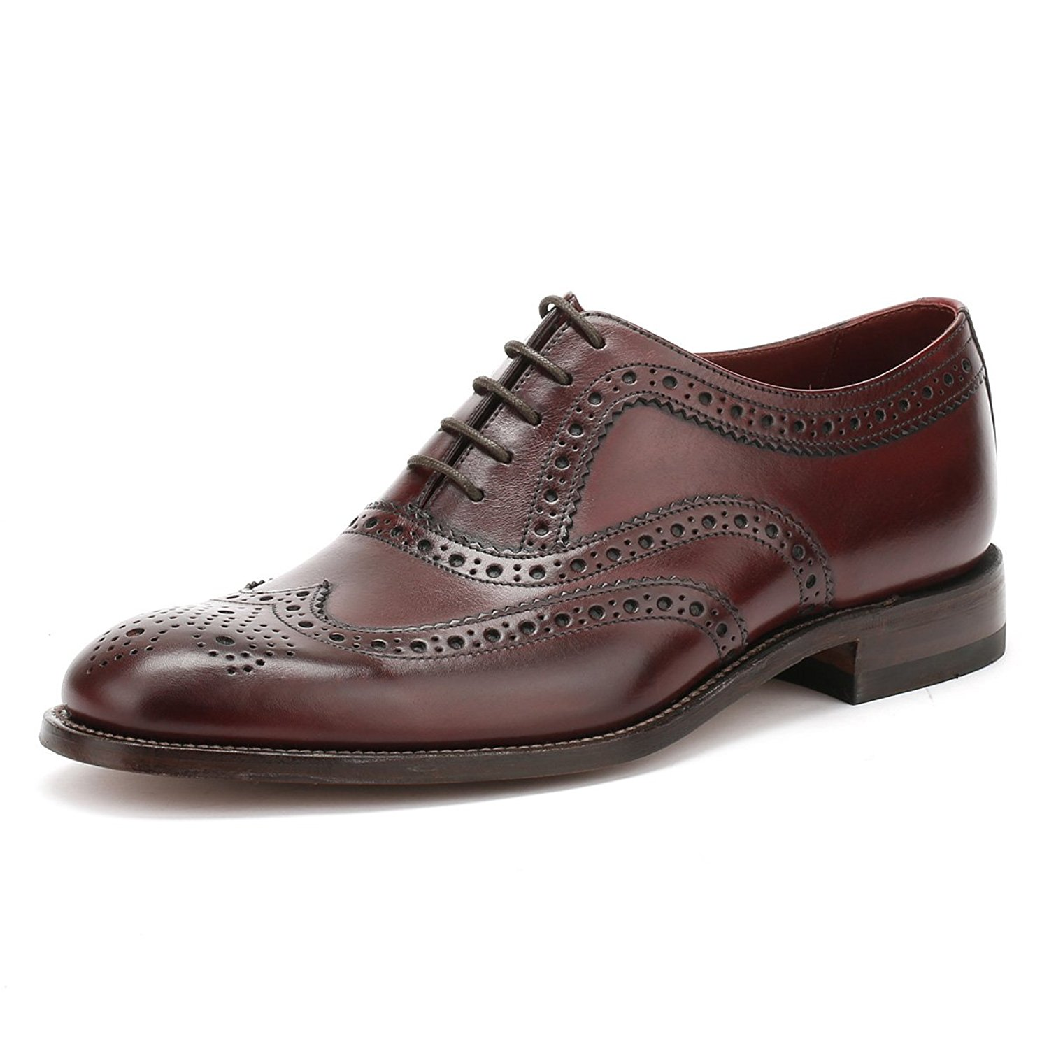 c7094442 Made in England. Get Quotations · Loake Men's Calf Leather Fearnley Brogues  Burgundy