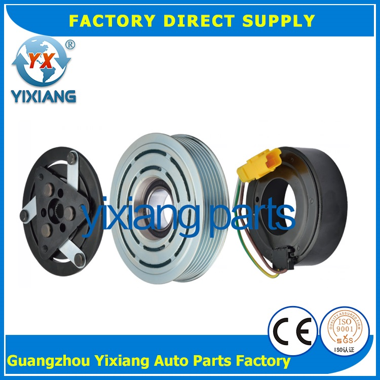 High Quality 120MM 6PK Air Conditioner Magnetic Clutch 12V For Peugeot