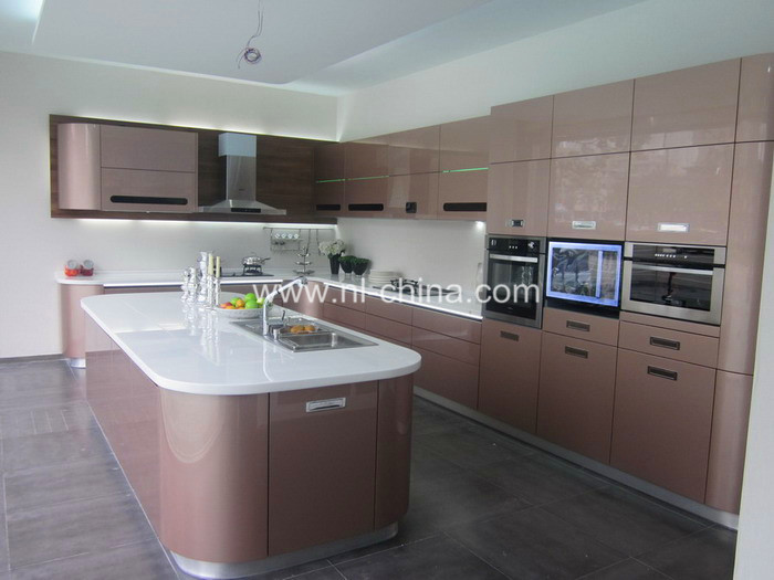 Lacquer mfc pvc wood venner solid wood quartz stone for Best lacquer for kitchen cabinets