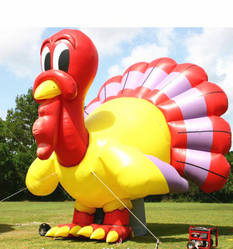 Christmas outdoor decoration high quality giant inflatable turkey