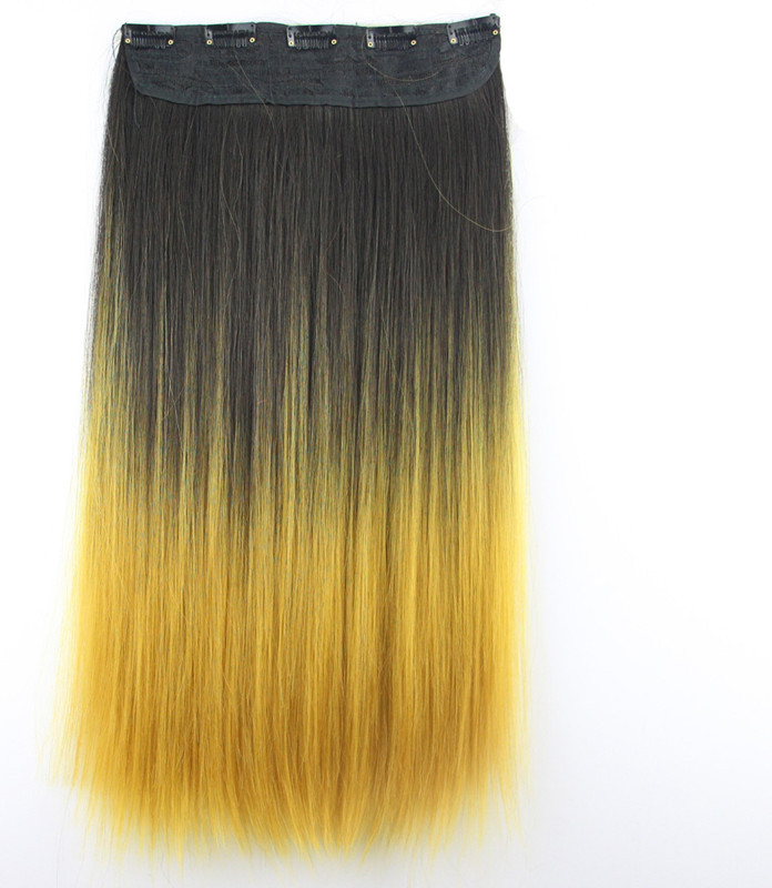 Buy 1pcslot Brazilian Long Straight Synthetic Hair Weave Ombre