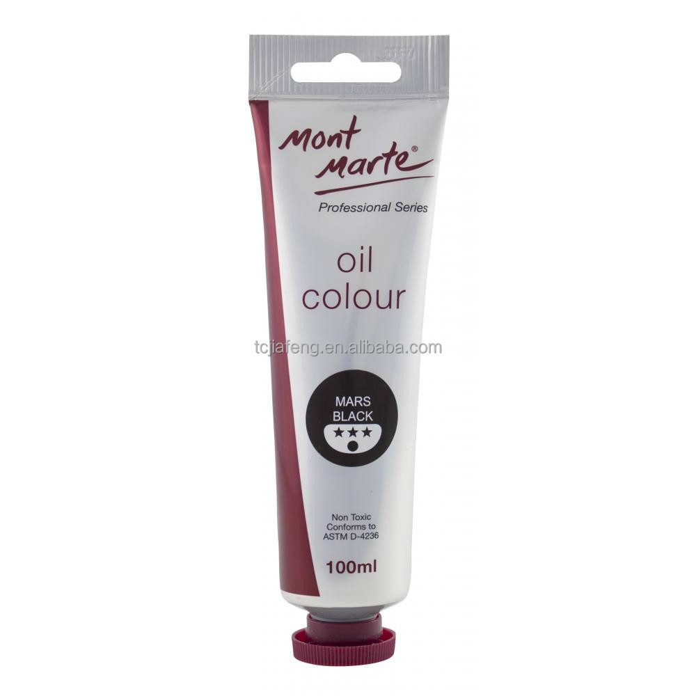 Mont Marte Oil Paint 100mls - Mars Black