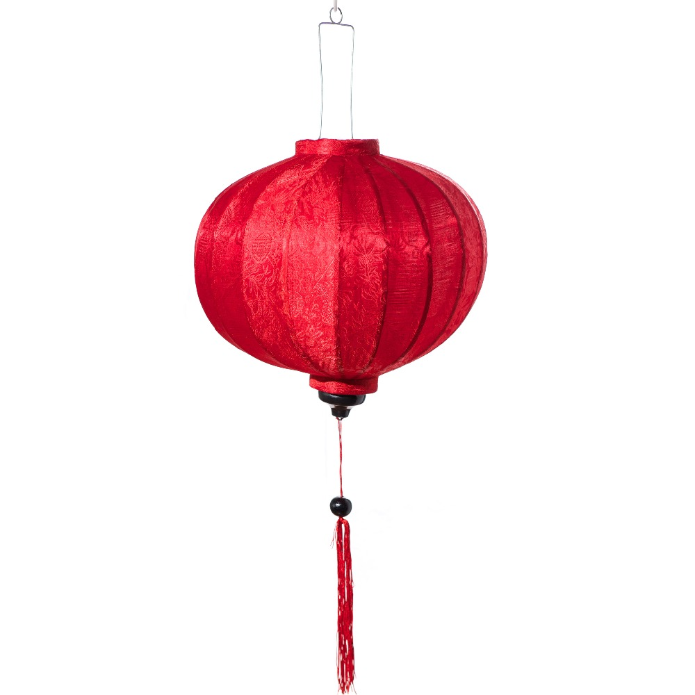 2016 famous round silk lantern used wedding dripping decoration