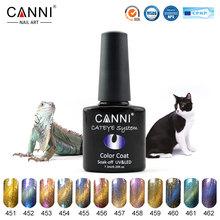 51024 CANNI factory 2016 nail art gel lacquers magnet soak off uv led chameleon cat