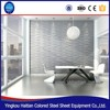 PVC decor 3D embossed background pannel board home decoration pop designs Waterproof PVC 3D ceiling Wall Panel for Bathroom