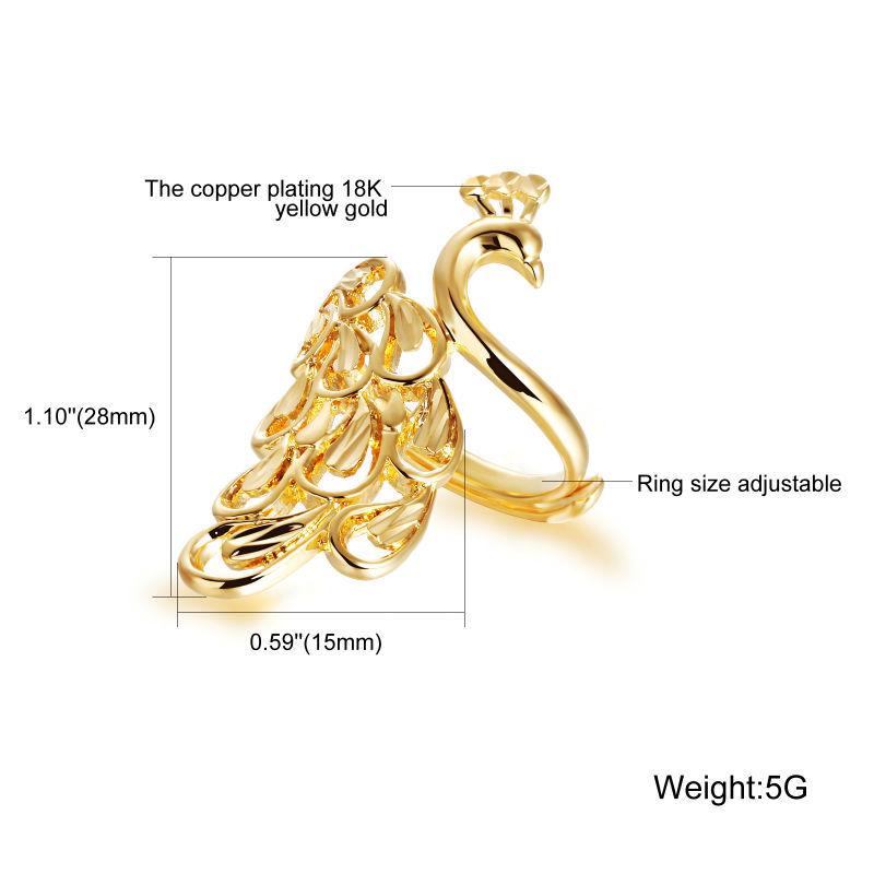 plain gold ring design for female