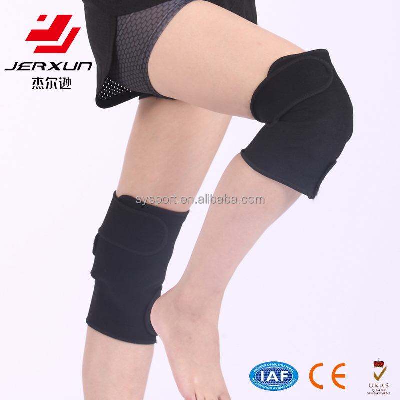 Self heating, adjustable knee pads, exercise joint, health care