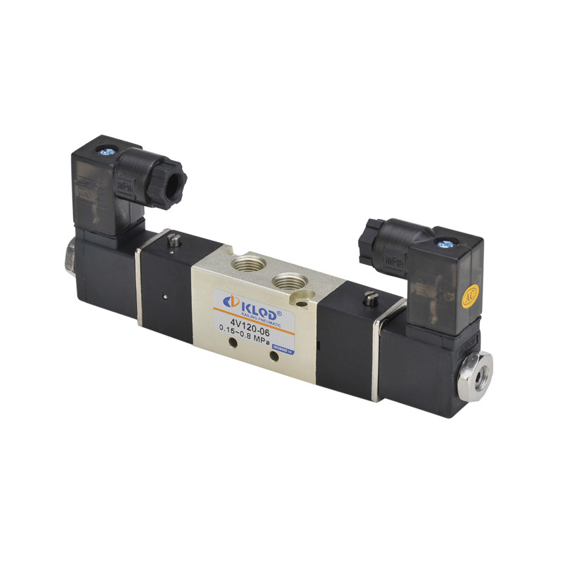 KLQD 5/2 Way 4V120-06/M5 Double Electric Control 12V Solenoid <strong>Valve</strong>