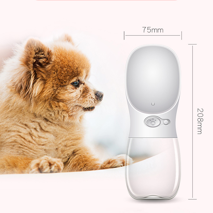 Most popular portable pet travel outdoor drink feeding bottle pet dog water bottle