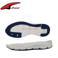 Casual shoe sole design EVA material made TPR outsole for man running shoes made