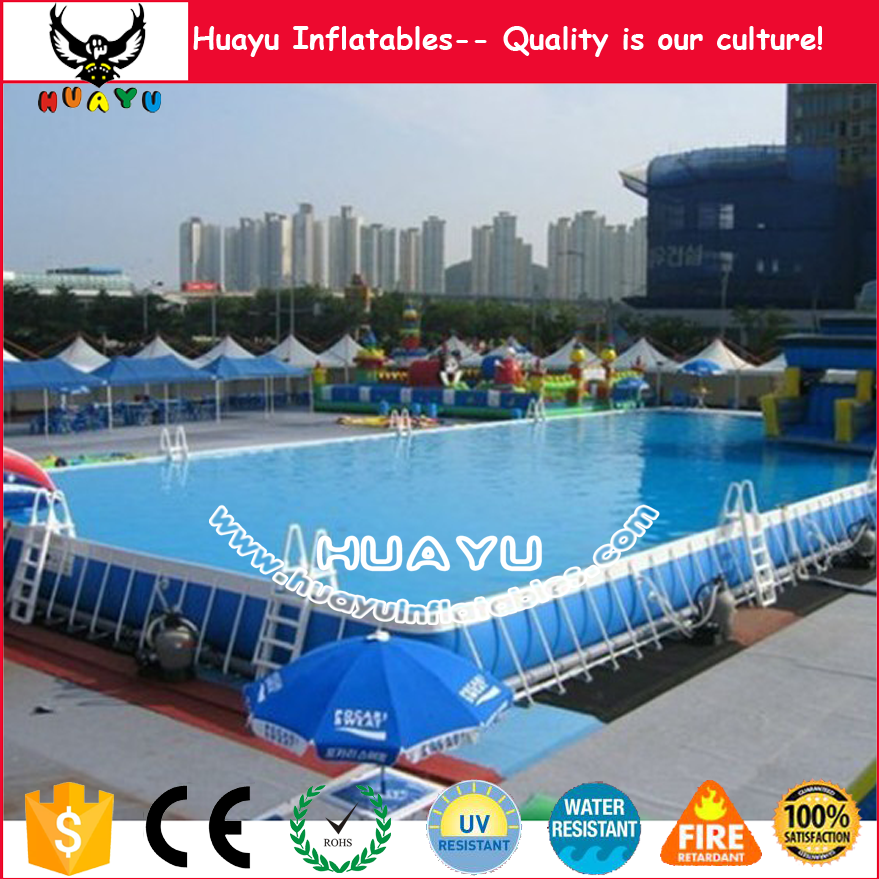 above ground swimming pool / intex ultra frame pool / pool table frame pvc tarpauline