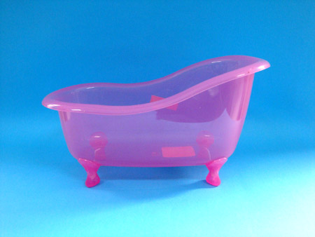 Transparent Pink Mini Plastic Bathtub As Gift,Different Shapes And ...