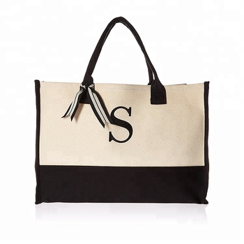 Initial Canvas Tote Personalized Tote Bag Buy Personalized Tote Bag Blank Canvas Wholesale Tote Bags Cotton Tote Bag Product On Alibaba Com