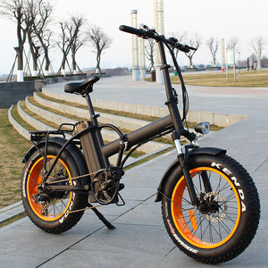 500W low price israel folding electric bicycle/folding e-bike/foldable fat tire electric bike RSEB507