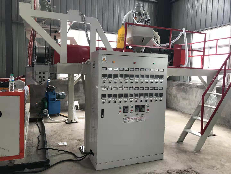 LYM-1000X2B Doppellagen-Stretchfolienmaschine mit hoher Kapazität von 1000 mm