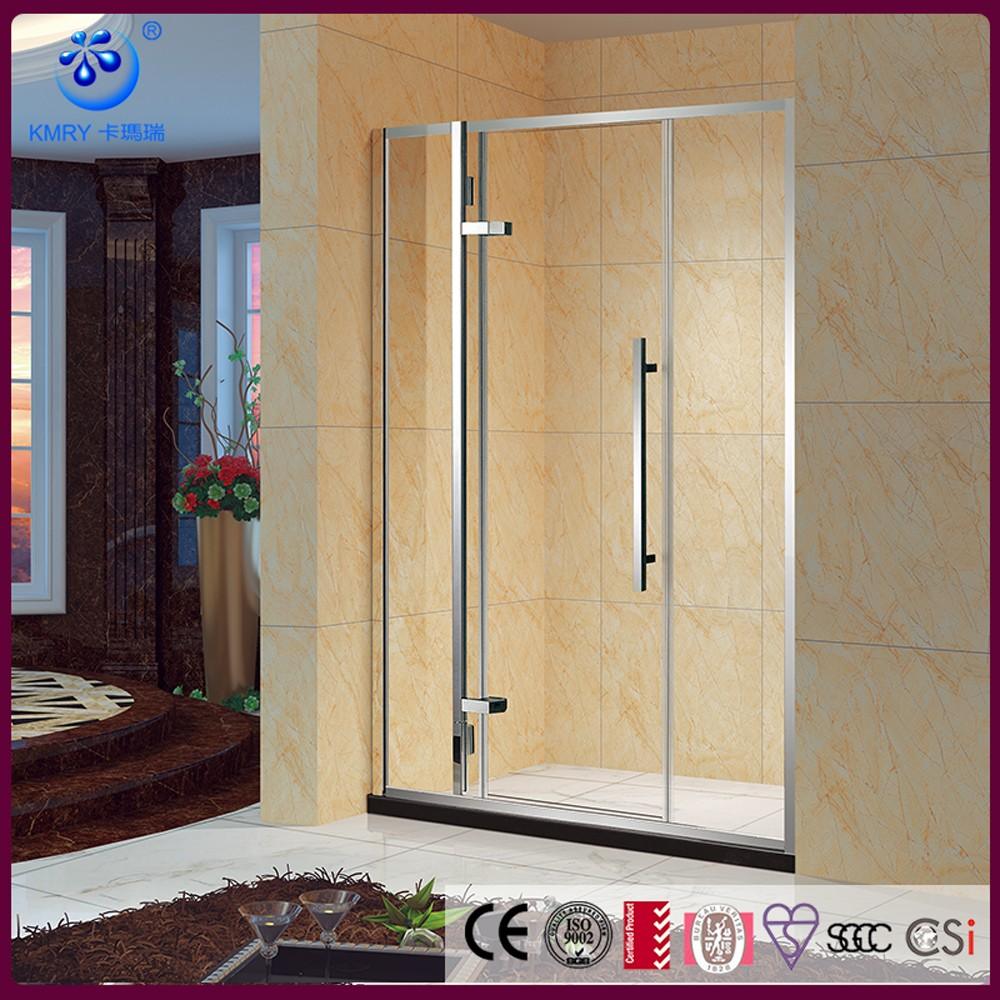304SS Diamond povit shower door Glass shower door
