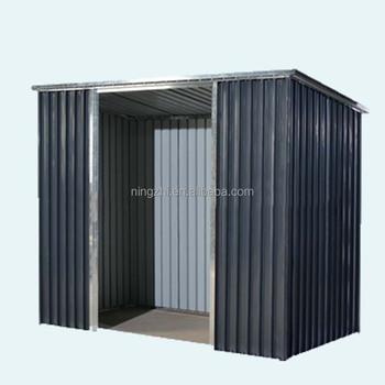 Stahl Gartenhaus heißer verkauf 8x4ft stahl gartenhaus schwarz grau farbe - buy