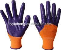 13Guage nylon nitrile coated gloves,work gloves,nitrile gloves (Sold at home and abroad)