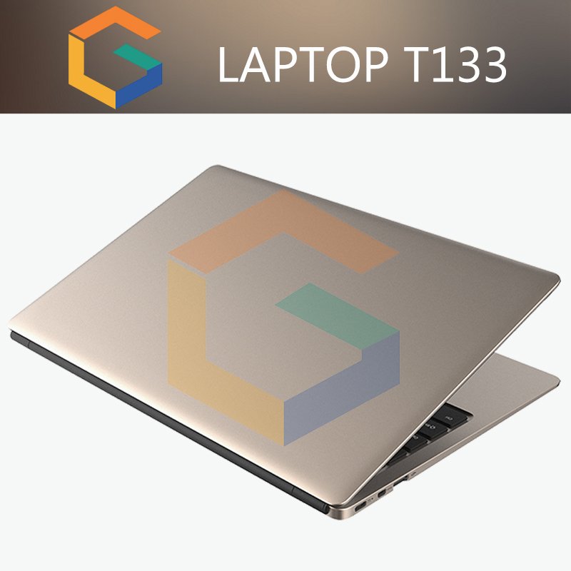 "13"" Intel Gaming Laptops cheap Win 10 Notebook Computer With 2In1 Keyboard laptop netbook T133"