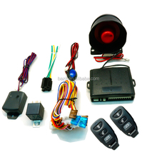 Anti-hijacking remote control smart car alarm system with 2 remotes
