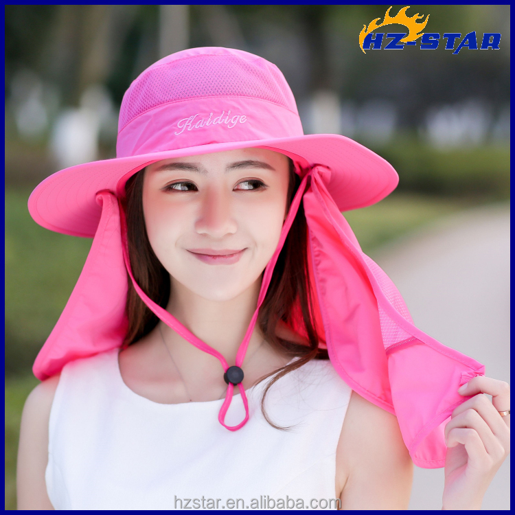 HZM-17526003 fishing hiking cover neck hat outdoor travelling camping sunlight <strong>caps</strong>