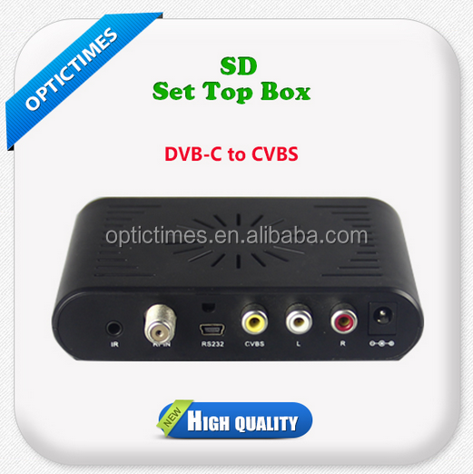 Digital cable HD/SD dvb t2 android internet tv Set top box price