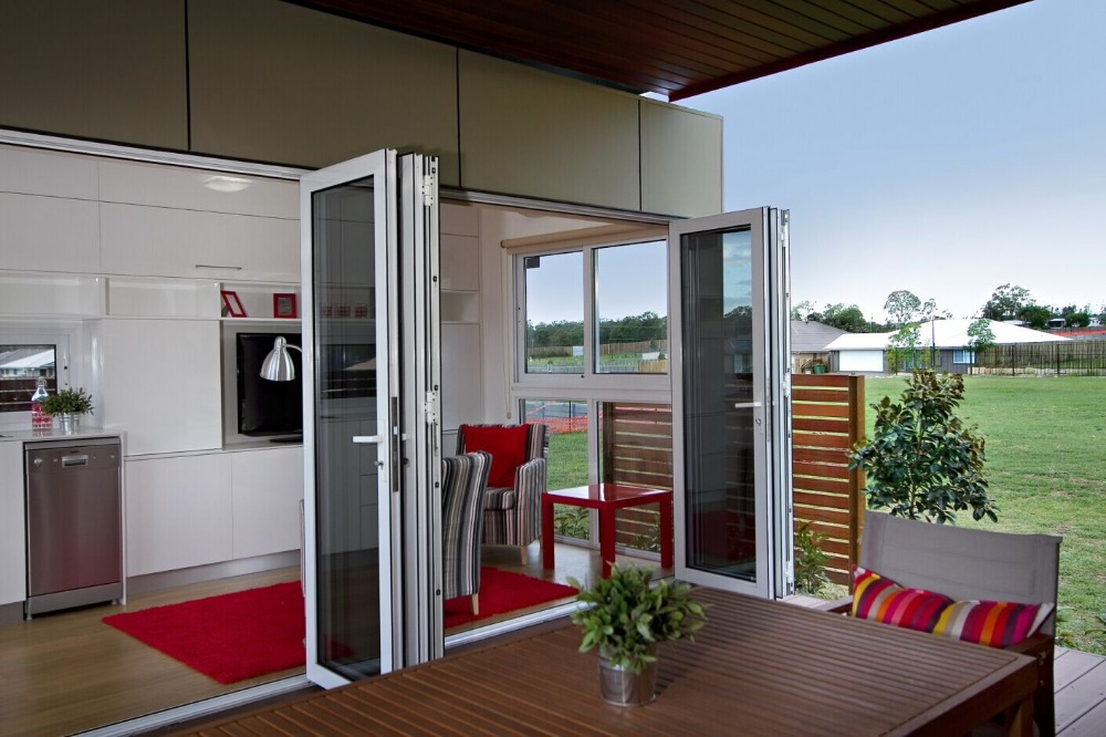 Latest Design Luxury One Room Modular Homes Granny Flat Australia Standrad Prefab House For