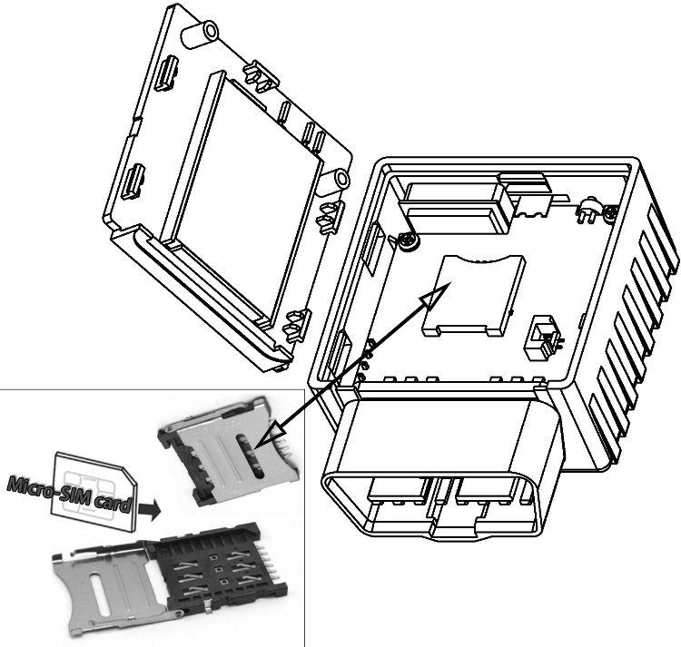 वायरलेस पोर्टेबल वाहन पोजिशनिंग मिनी OBD जीपीएस ट्रैकिंग