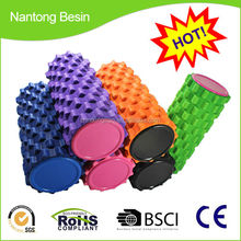 custom logo hollow eva high density foam roller