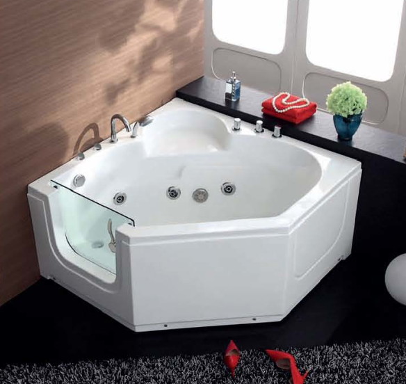 HS EB013A For Old Person Bathtub Glass Doors Short Bathtub And Shower
