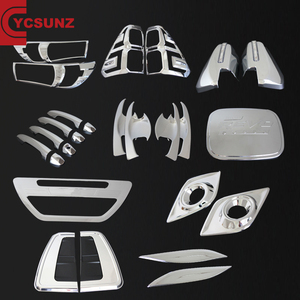 YCSUNZ Hilux Car Accessories ABS Chrome Kits Full Set For Hilux Revo 2016