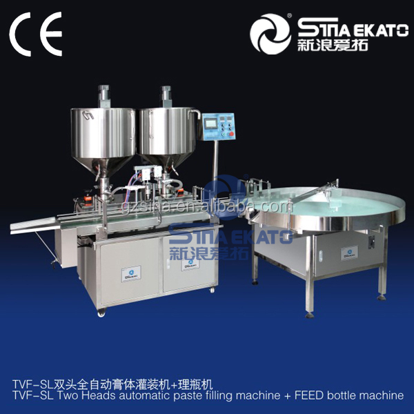 new products 2015 innovative machine Stainless Steel High Viscosity Liquid Filling Machine