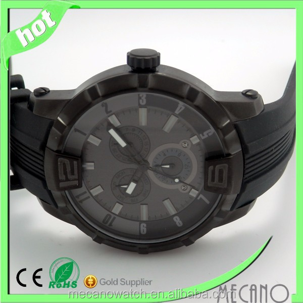 Elegant mature Man Sports Watches ,Japan Quartz Movt Wan Sport Watch From China MECANO
