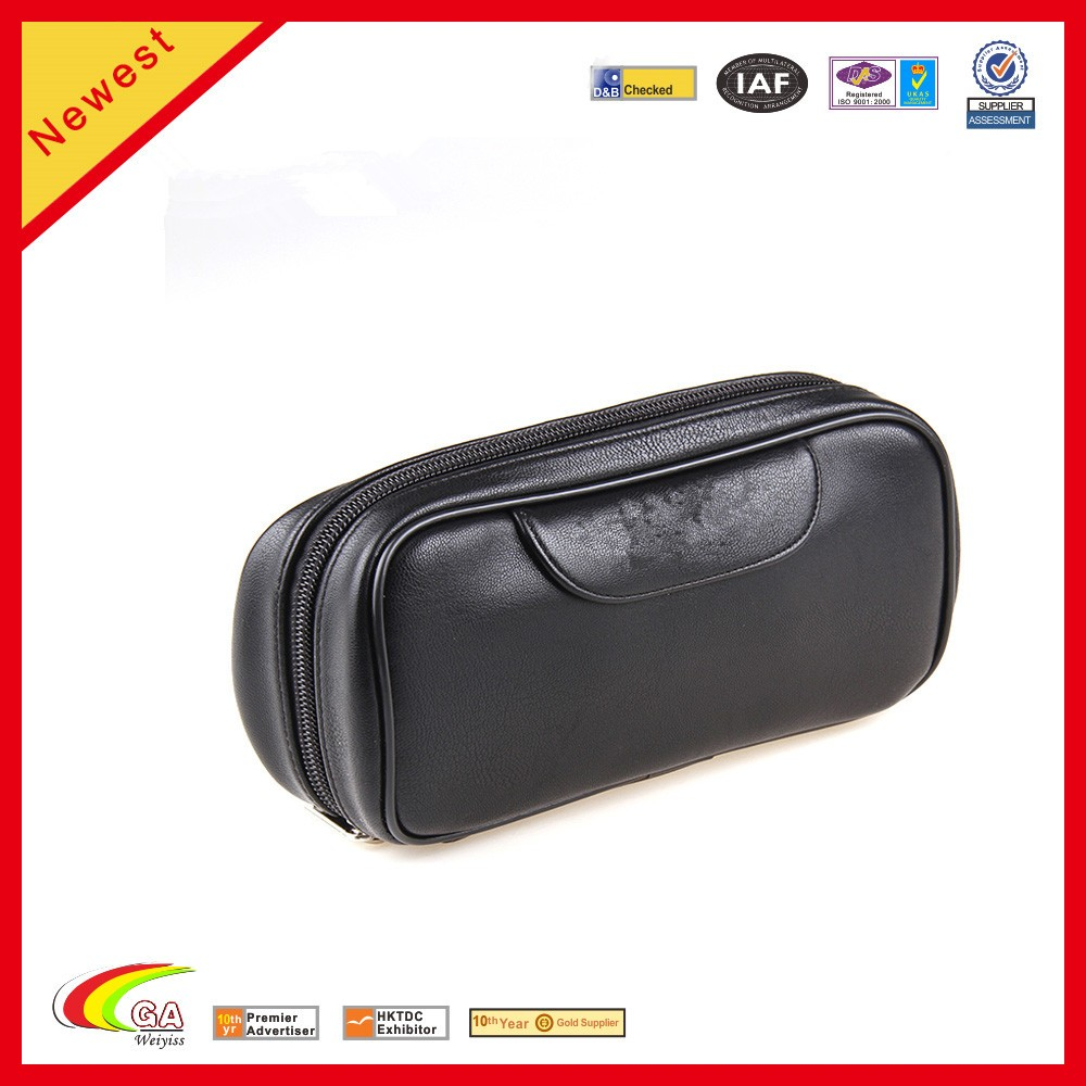 PU Leather Travel Pipe Pouch Case