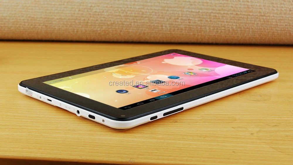 9 inch Allwiner A33 Quad core A7-1.3GHz 1024*600 5-capacitive touch screen wifi android mini tanlet pc BT
