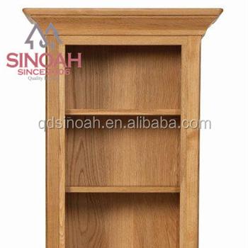 provence eiken houten smalle boekenkast