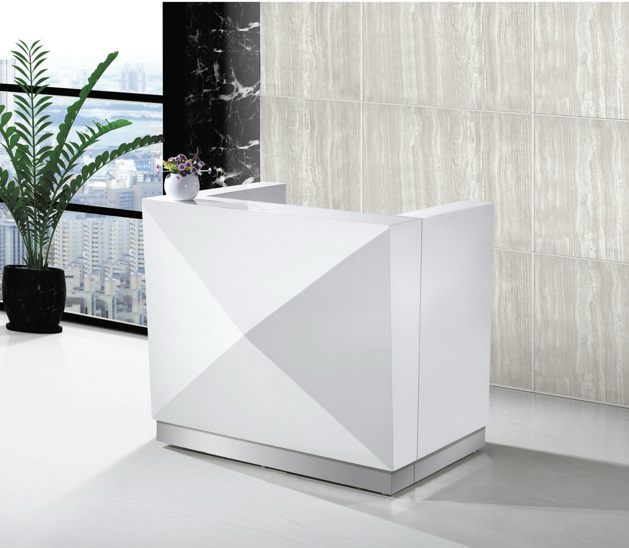 Container Office Designs: Office Furniture Front Desk Small Reception Desk