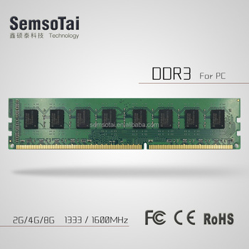 cheapest price best quality DDR3 2GB 1066 1333 1600 mhz desktop RAM with original chips compatible with all motherboard
