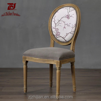 Louis Xv Furniture Reproduction Shabby Wedding Chair Zjf78g