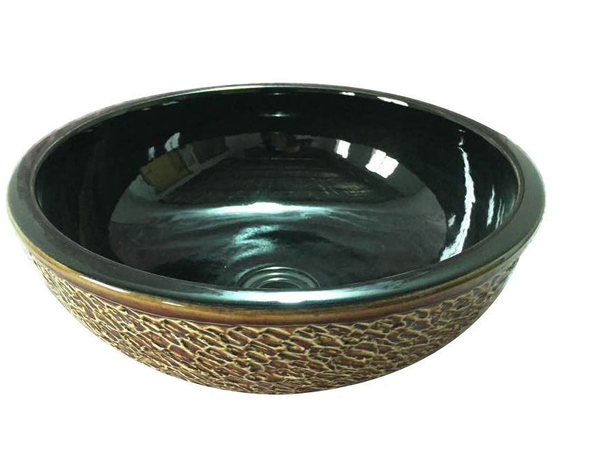 Factory outlets] Jingdezhen Ceramic Art table washbasin bowl Rohan said Jay bathroom vanity 004