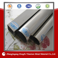 Polished stainless steel for motorcycle tubes
