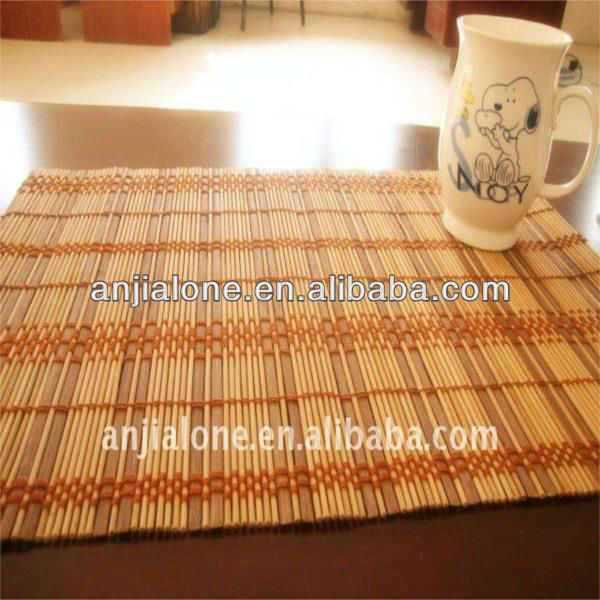 WY T-001 Bamboo Table Mat,Woven and cheap Bamboo Placemats