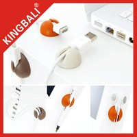 Cable Clip for computer wire/Cable Drop for office desk with high quality