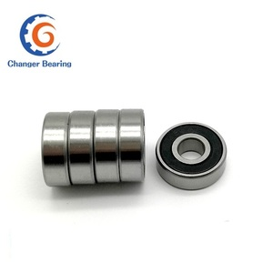 Low noise fan ball bearing OEM price list 6201 6202 6203 6204 6205rs ball bearing for ceiling fan parts